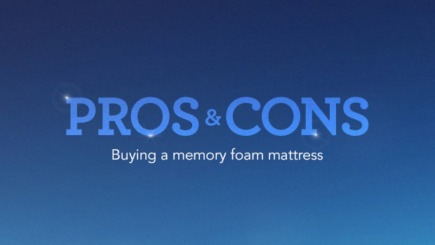 New Memory Foam Guide by Explains Mattress Pros and Cons