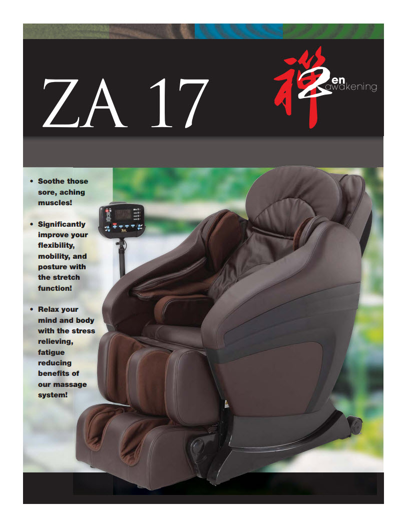 Zen Awakening Massage Chair ZA 17