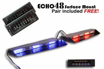 LED Stealth Commander Visor Light'