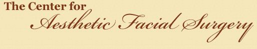 The Center for Aesthetic Facial Surgery Logo