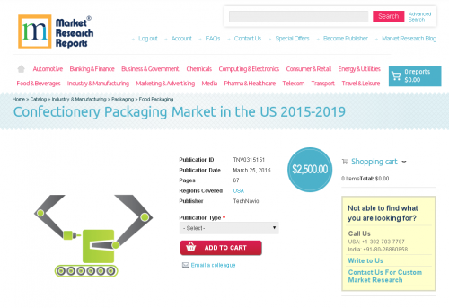 Confectionery Packaging Market in the US 2015-2019'