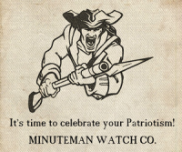 Minuteman Watch Co Logo