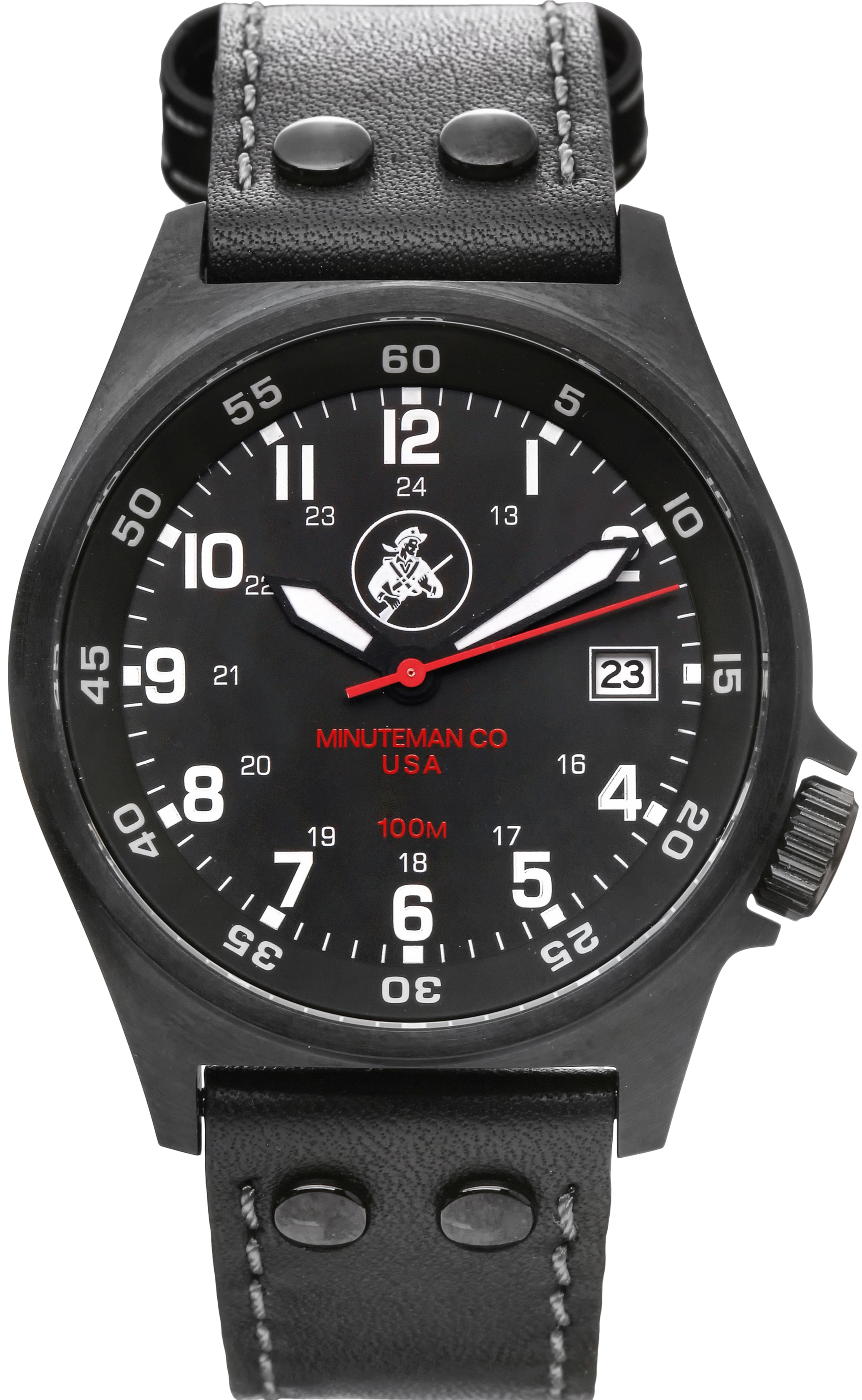 Minuteman Bennington PVD Wrist Watch assembled in the USA.