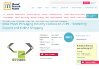 India Paper Packaging Industry Outlook to 2019