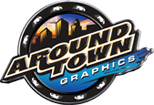 Company Logo For Around Town Graphics'
