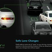 CarVi helps drivers make safe lane changes.