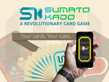 Sumatokado - A revolutionary card game'