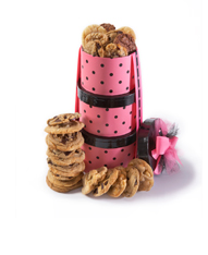 Pink Hat Box Cookies'
