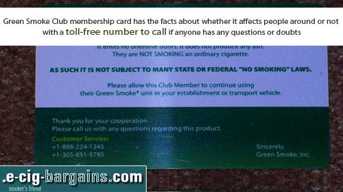 Green Smoke Discount'
