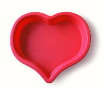 Heart Shaped Silicone Non-Stick Cake Pan