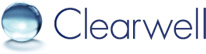 Logo for Clearwell Systems'