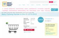 Baby Clothing Market in the US 2015-2019