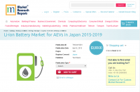 Li-ion Battery Market for AEVs in Japan 2015-2019