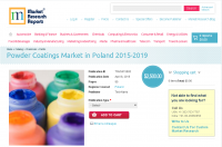 Powder Coatings Market in Poland 2015-2019