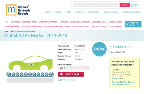 Global ADAS Market 2015-2019'