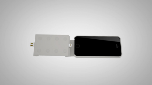 WiC: The plug and charge Iphone 6 case'