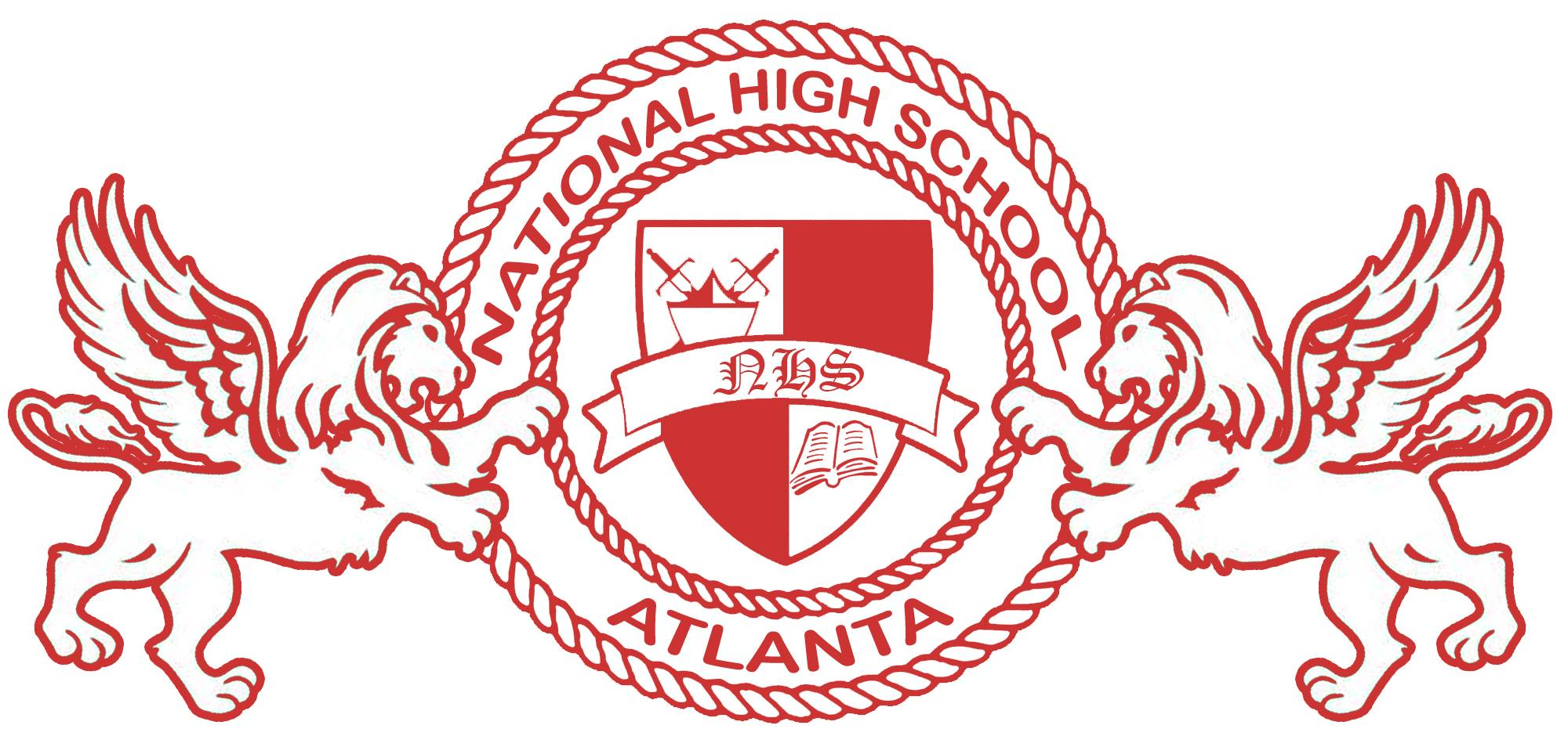 National High School Logo
