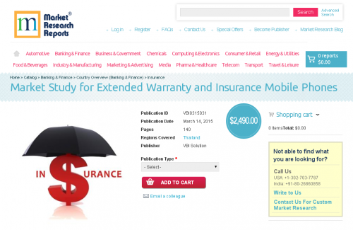 Market Study for Extended Warranty and Insurance Mobile'