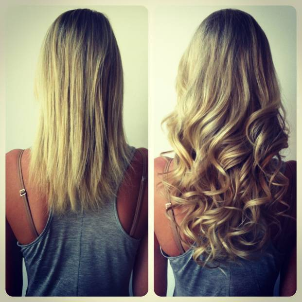 Great Lengths Hair Extensions Before and After
