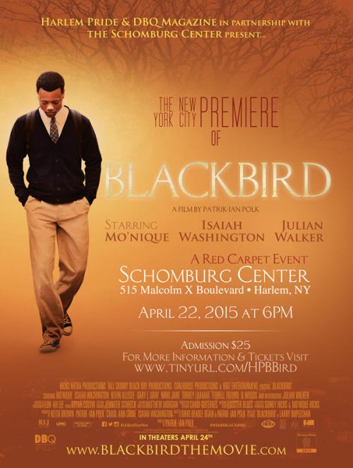 Blackbird Harlem Movie Poster'