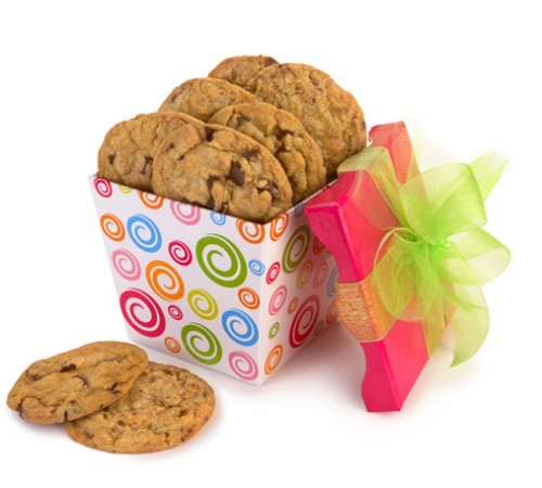 Pink Swirly Cookie Collection'