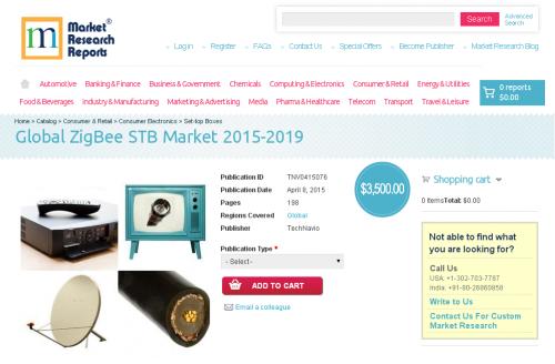 Global ZigBee STB Market 2015-2019'