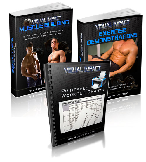 Visual Impact Muscle Building by Rusty Moore'