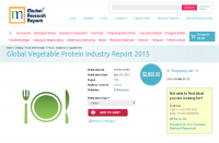 Global Vegetable Protein Industry Report 2015