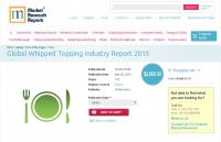 Global Whipped Topping Industry Report 2015