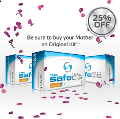 Original Kit of Safe Cig on Mother's Day at a Discount'