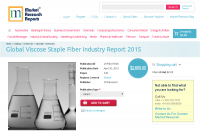 Global Viscose Staple Fiber Industry Report 2015