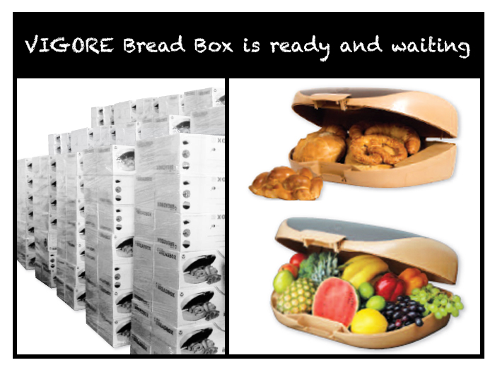 Vigore Breadbox