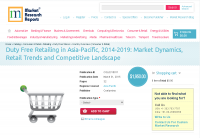 Duty Free Retailing in Asia-Pacific, 2014-2019