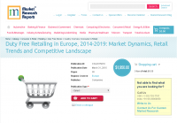 Duty Free Retailing in Europe, 2014-2019
