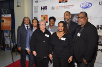 Blackbird Red Carpet Harlem Pride Board