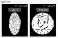 Apple Watch App FlipForIt