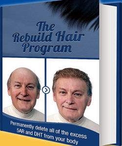 Jared Gates The Rebuild Hair Program Logo
