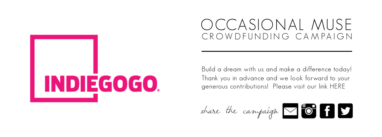 Occasional Muse Indiegogo Campaign