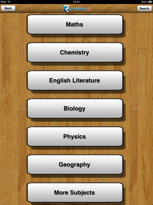 Revision App - UK Education App'