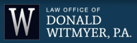 Law Offices of Donald Witmyer P.A. Logo