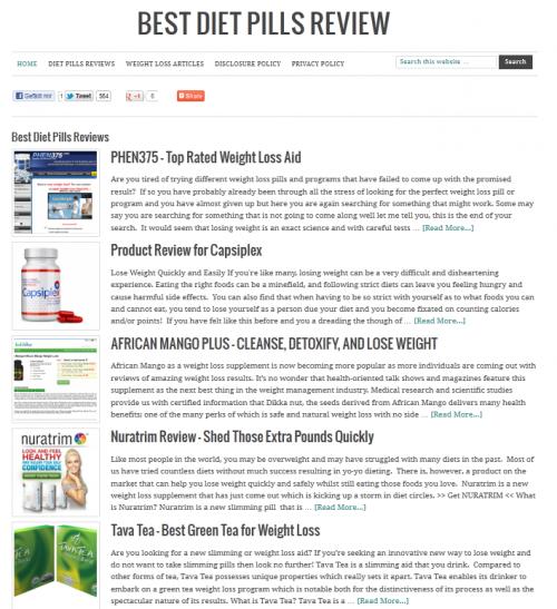 Best Diet Pills Reviews'