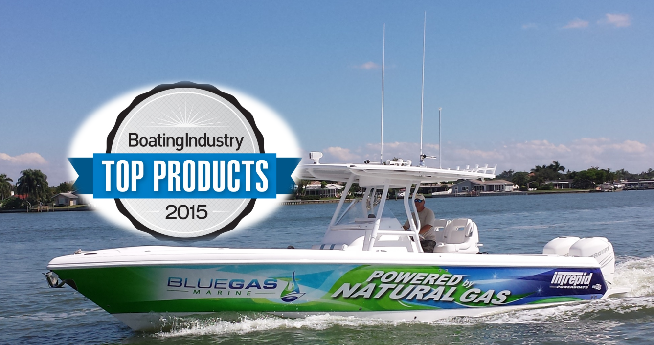 Blue Gas Marine, Inc. Wins 2015 Top Product Award