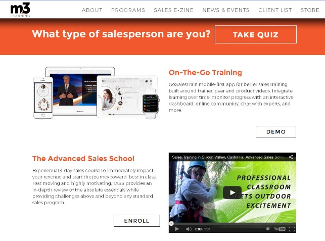 Take our Salesperson quiz!