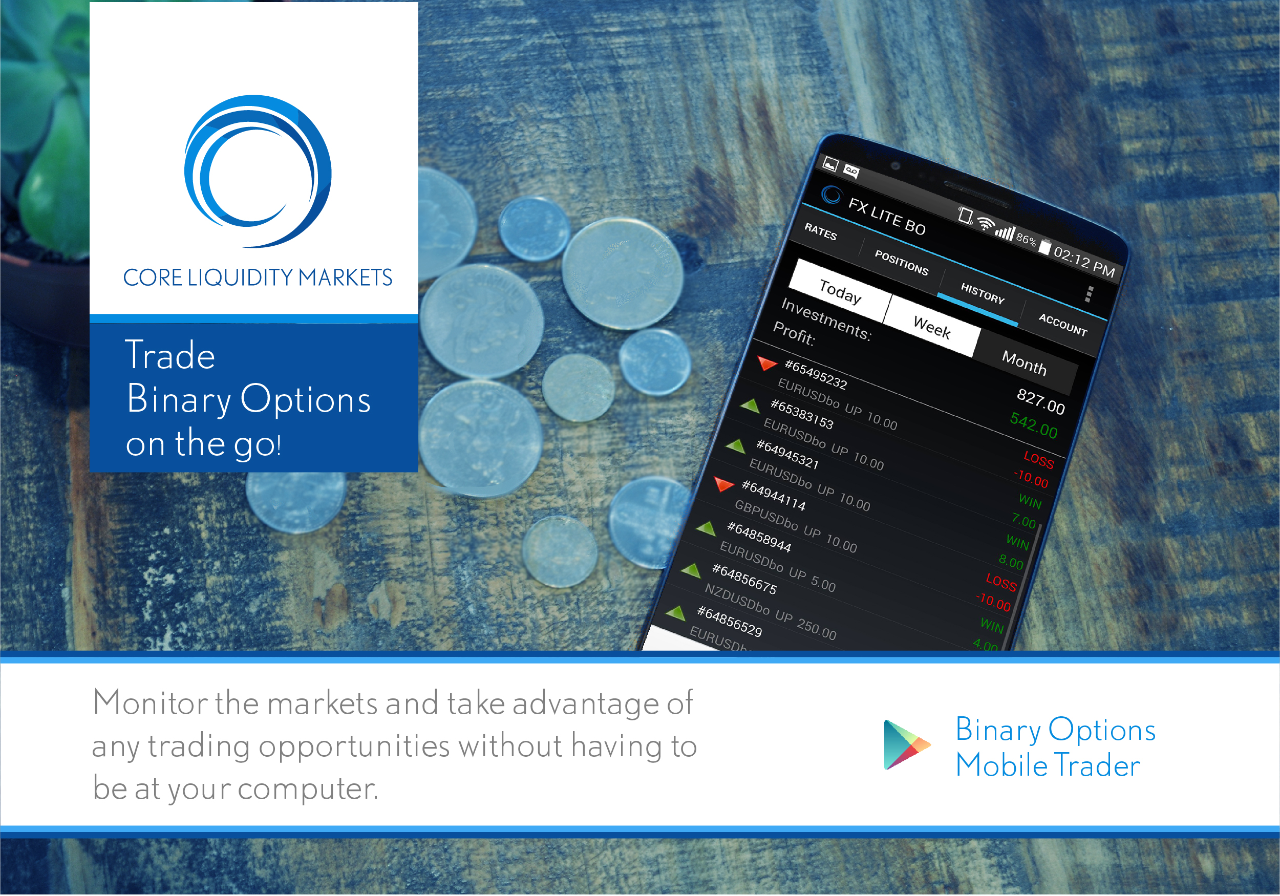 Binary Options Mobile Trader