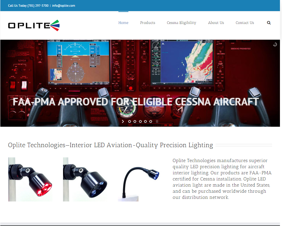 New Logo and Identity Lights Up Oplite Technologies