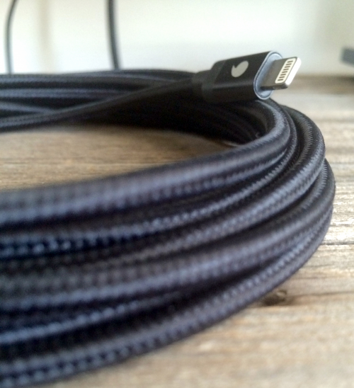 BBC: Big Black Cable 10ft Braided MFi Charger'