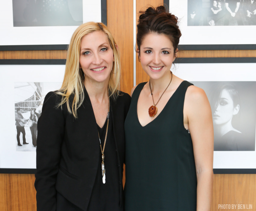Britt Hysen and Jacqueline Saturn'