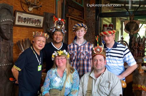 Exploretraveler.com Team with new friends.'