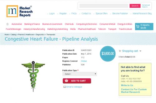 Congestive Heart Failure - Pipeline Analysis'