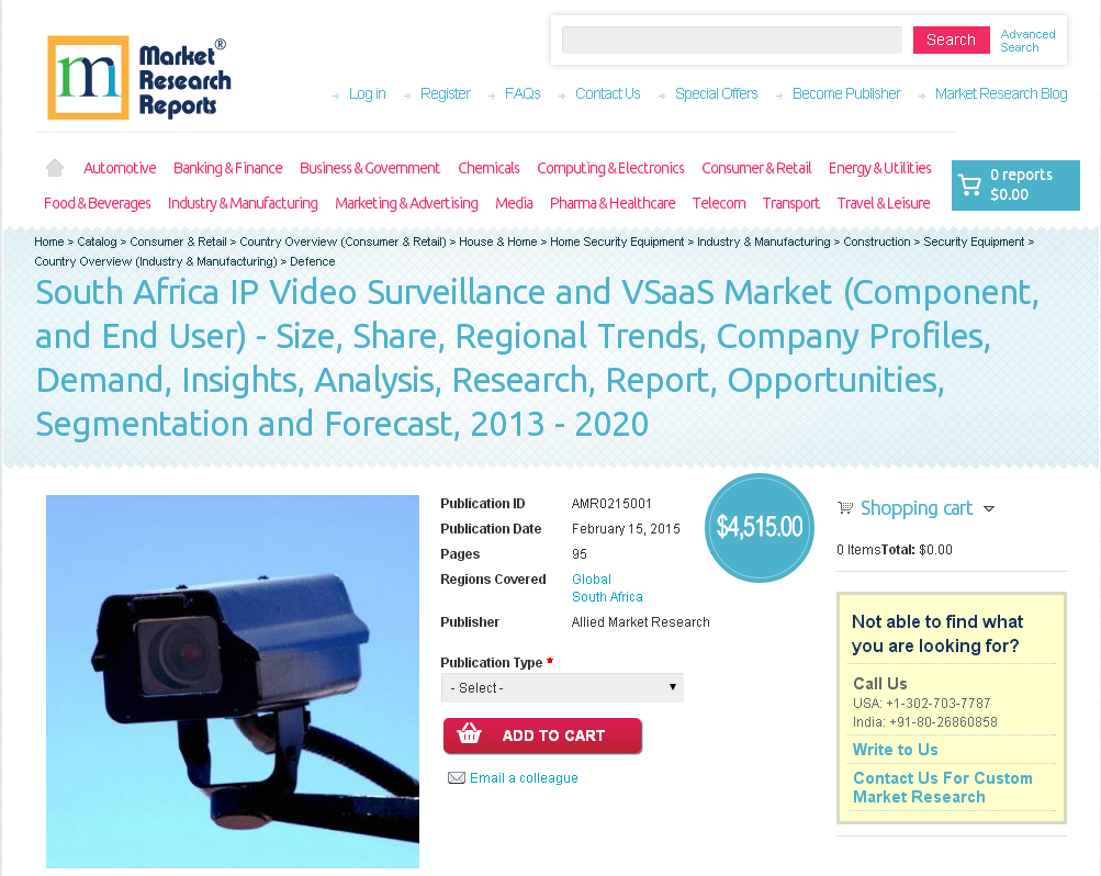 ip video surveillance and vsaas market Internet protocol (ip) is a next generation technology for the surveillance industry the ip surveillance video is accessible from any point on the ip network rising demand for real-time and remote surveillance, supporting regulatory aspects, enhanced video content analysis, and development of serial advanced technology.